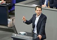 DEU, Deutschland, Germany, Berlin, 27.01.2021: Johannes Vogel (FDP) in der Plenarsitzung im Deutschen Bundestag.