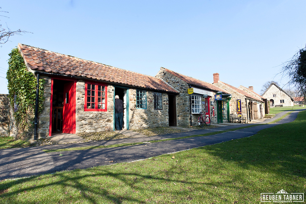 Ryedale Folk Museum in Hutton-Le-Hole, North Yorkshire.