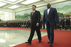 December 21, 2017 - Beijing, Beijing, China - China's president Xi Jinping meeting with Gambia President Barrow in Beijing, China on 21th December 2017. (Credit Image: © TPG via ZUMA Press)