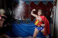 Photo Booth at Albert Molina's 40th birthday party, ay 31, 2014, at Resevoir Bar in Grand Rapids, MI, USA