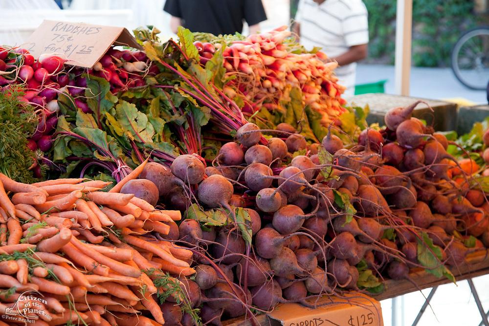Culver City Farmer's Market Tuesday afternoons, Culver City, Los Angeles, California, USA