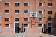 The Museo Storico Navale, a naval history museum in the Castello district of Venice, near the Venetian Arsenal. The museum was established by the Regia Marina in 1919.