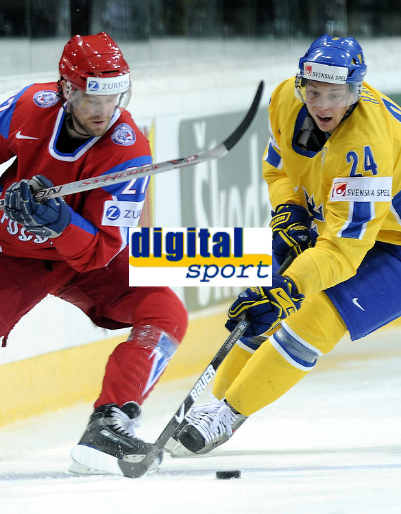 Vitali Atyushov (RUS) gegen Johan Harju (SWE) © Melanie Duchene/EQ Images
