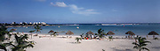 Resort beach in Yucatan, Mexico