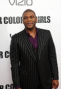 25 October 2010- New York, NY- Tyler Perry at Tyler Perry's World Premiere of the Film 'For Colored Girls ' an Adaptation of Ntozake Shange's play ' For Colored Girls Who Have Considered Suicide When the Rainbow Is Enuf.' held at the Zeigfeld Theater on October 25, 2010 in New York City.