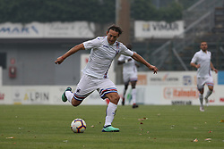 July 28, 2018 - Trento, TN, Italy - Edgar Barreto during the Pre-Season friendly between Sampdoria and Parma, in Trento on July 28, 2018, Italy  (Credit Image: © Emmanuele Ciancaglini/NurPhoto via ZUMA Press)