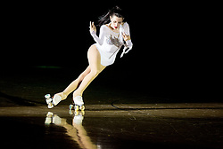 Micaela Magliocco perform during special artistic roller skating event when Lucija Mlinaric of Slovenia, World and European Champion ended her successful sports career, on November 7, 2015 in Rence, Slovenia. Photo by Vid Ponikvar / Sportida