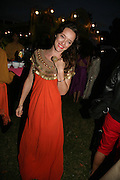 Alice Temperley, QUINTESSENTIALLY AND ELEPHANT FAMILY TRUNK SHOW PARTY. SERPENTINE PAVILION, HYDE PARK. 16 SEPTEMBER 2007. -DO NOT ARCHIVE-© Copyright Photograph by Dafydd Jones. 248 Clapham Rd. London SW9 0PZ. Tel 0207 820 0771. www.dafjones.com.