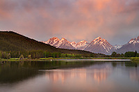 Sunrise at Oxbow Bend, Grand Teton National Park Wyoming
