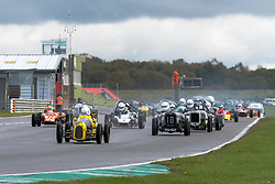 Christian Pedersen pictured while competing in the 750 Motor Club's Historic 750 Formula race series. Picture taken at Snetterton on October 17, 2020 by 750 Motor Club photographer Jonathan Elsey