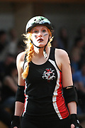 Rollerderby: Hamburg Harbour Girls - Kopenhagen Kick-Ass Cuties, Hamburg, 26.04.2014<br /> Feature<br /> © Torsten Helmke