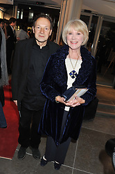 WENDY CRAIG and MICHAEL KIRK at the opening of the new St.James Theatre, 12 Palace Street, London SW1 on 13th September 2012.