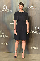© Licensed to London News Pictures. 26/04/2017. London, UK. GEMMA ARTERTON attendS the Omega party celebrating 60 Years of the Speedmaster watch. Photo credit: Ray Tang/LNP