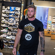 NLD/Rotterdam/20200224 - Stare down Boxing Influencers 2020,  Sidney Bout