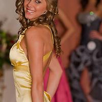 Edina Szommer participates the Miss Hungary beauty contest held in Budapest, Hungary on December 29, 2011. ATTILA VOLGYI