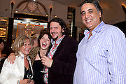 BARONESS HELENA KENNEDY;; JESSIE BUCKLEY; JAY RAYNER; AMAN COONAR, Massimo's restaurant at the Corinthia Hotel, Whitehall  host the after party  for 'Claire Rayner's benefit show' 5 June 2011. <br /> <br />  , -DO NOT ARCHIVE-© Copyright Photograph by Dafydd Jones. 248 Clapham Rd. London SW9 0PZ. Tel 0207 820 0771. www.dafjones.com.
