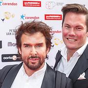NLD/Amsterdam/20150629 - Uitreiking Rainbow Awards 2015, Mari van der Ven en ............