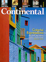 Continental cover-Buenos Aires, Argentina