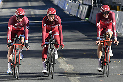 September 16, 2017 - Bergen, Norway - BERGEN, NORWAY - SEPTEMBER 16 : MARTIN Tony (GER) Rider of Team Katusha - Alpecin pictured during the reconnaisance of the Team Time Trial 2017 World Road Championship cycling race on September 16, 2017 in Bergen, Norway, 16/09/2017 (Credit Image: © Panoramic via ZUMA Press)
