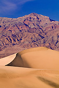 Mesquite Flat Sand Dunes under the Grapevine Mountains, Death Valley National Park. California