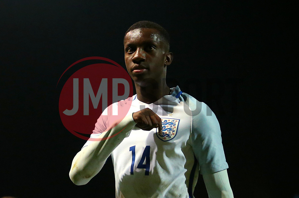 Edward Nketiah of England Under 19's - Mandatory by-line: Robbie Stephenson/JMP - 05/09/2017 - FOOTBALL - One Call Stadium - Mansfield, United Kingdom - England U19 v Germany U19 - International Friendly