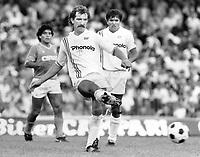 Fotball<br /> England <br /> Foto: Colorsport/Digitalsport<br /> NORWAY ONLY<br /> <br /> Graeme Souness - Sampdoria. Napoli v Sampdoria, 23/9/84.