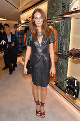 LADY VIOLET MANNERS at a dinner hosted by Tod's to celebrate the refurbishment of their store 2-5 Old Bond Street, London on 15th September 2016.