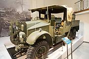 6x4 breakdown Morris commercial vehicle, REME museum, MOD Lyneham, Wiltshire, England, UK