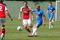 Alex Curran. Stockport County 0-2 Fleetwood Town. Pre-Season Friendly. 15.8.20