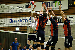 20170125 NED: Beker, Sliedrecht Sport - Seesing Personeel Orion: Sliedrecht<br />Ian de Bus (7) of Sliedrecht Sport<br />©2017-FotoHoogendoorn.nl / Pim Waslander