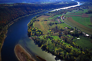 Susquehanna River, East Branch, from Wyalusing Overlook, US Rt# 6, PA