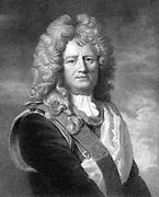 Sebastian le Prestre de Vauban (1633-1707) French military engineer. Engraving.