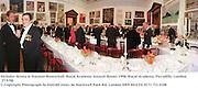 Nicholas Serota & Norman Rosenthal. Royal Academy Annual dinner 1998. Royal Academy, Piccadilly, London W1. 27/5/98. <br /> © Copyright Photograph by Dafydd Jones<br /> 66 Stockwell Park Rd. London SW9 0DA<br /> Tel 0171 733 0108