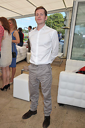 SHAUN EVANS at the Audi International Polo Day held at Guards Polo Club, Smith's Lawn, Windsor on 22nd July 2012.