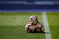 March 9, 2019 - Madrid, MADRID, SPAIN - Nike ball of the match during the spanish league, La Liga, football match played between Atletico de Madrid and CD Leganes at Wanda Metropolitano Stadium in Madrid, Spain, on March 9, 2019. (Credit Image: © AFP7 via ZUMA Wire)