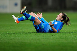 Tina Marolt of Slovenia during football match between Slovenia and Estonia in Qualification for UEFA Women's Euro 2022, on December 1, 2020 in Arena Bonifika, Koper, Slovenia. Photo by Matic Klansek Velej / Sportida