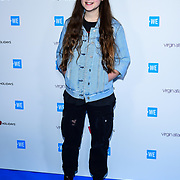 Bella Ramsey Arrives at 2020 WE Day UK at Wembley Arena, London, Uk 4 March 2020.