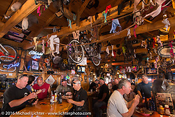 Bentley's Saloon in Arundel, Maine during Laconia Motorcycle Week 2016. USA. Wednesday, June 16, 2016.  Photography ©2016 Michael Lichter.