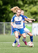 Beth Hepple (Durham Womens FC) in action during the FA Women's Super League match between Durham Women FC and Everton Ladies at New Ferens Park, Belmont, United Kingdom on 30 August 2015. Photo by George Ledger.