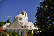 Greek Orthodox Church at Cape Sounion Attica Peninsula,  Greece