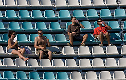 Spectators at Women Waterpolo match between National Teams of Germany and Canada at 13th FINA World Championships Rome 2009, on July 25 2009, at Foro Italico, Rome, Italy. (Photo by Vid Ponikvar / Sportida)