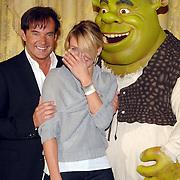 NLD/Amsterdam/20070612 - Photocall Shrek 3 met Antonio Banderas en Cameron Diaz, met de nederlandse stemmencast, Gerard Joling en Cameron Diaz