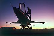F-16 pilot, Hill AFB Utah