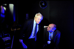 Mayor of London Boris Johnson during the Conservative Party Conference in Manchester, October 4, 2011. Photo By Andrew Parsons / i-Images.