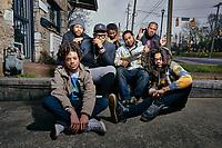 Black Son Rising photographed on Jefferson Street Sound in Nashville, TN