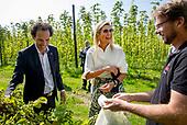 Werkbezoek Koningin Maxima aan Gulpener Bierbrouwerij