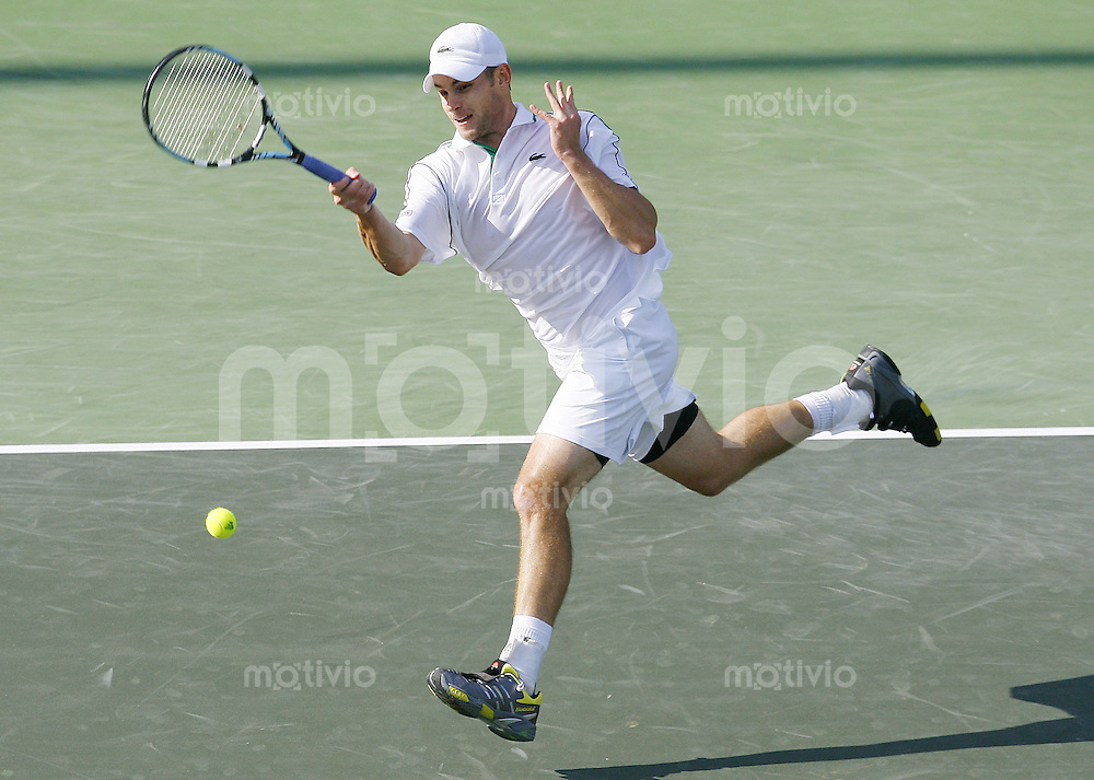 Tennis ATP Masters Series Key Biscayne 2006 Andy Roddick (USA) in Aktion