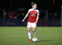 February 7, 2019 - London, England, United Kingdom - Janni Arnth of Arsenal.during FA Continental Tyres Cup Semi-Final match between Arsenal and Manchester United Women FC at Boredom Wood on 7 February 2019 in Borehamwood, England, UK. (Credit Image: © Action Foto Sport/NurPhoto via ZUMA Press)