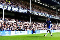 12th August 2017 - Premier League - Everton v Stoke City - Fans applaud Wayne Rooney of Everton - Photo: Simon Stacpoole / Offside.