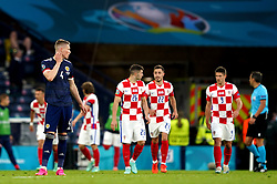 Scotland's Scott McTominay looks dejected during the UEFA Euro 2020 Group D match at Hampden Park, Glasgow. Picture date: Tuesday June 22, 2021.